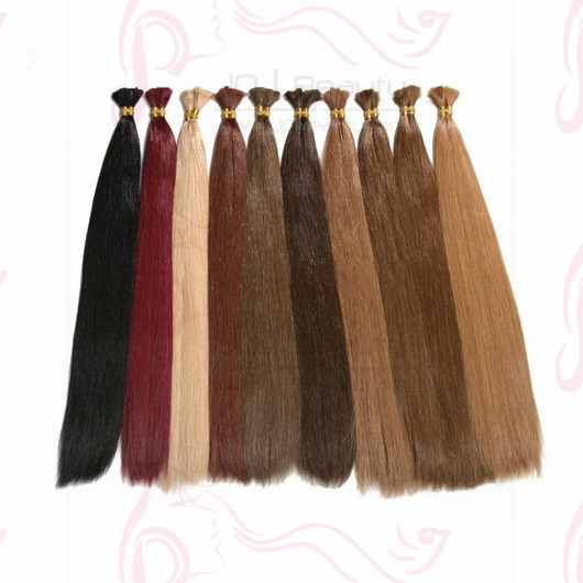 100% Human Bulk Braiding Hair Pieces 8