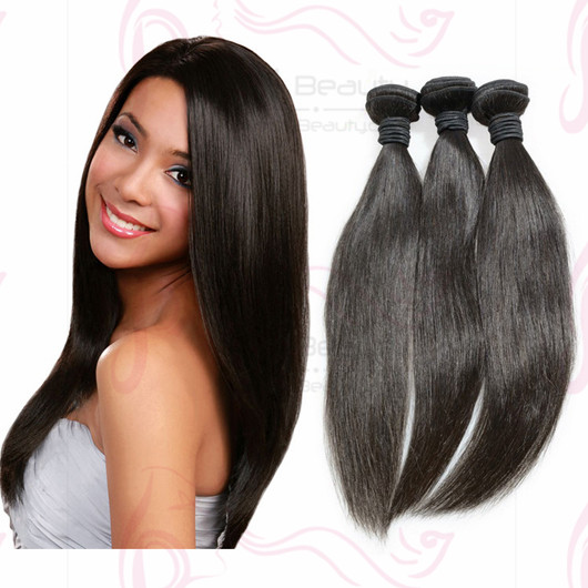 100% Mongolian Virgin Hair 100g 4pcs Lot Human Hair Extensions Silk Straight Hair Weaves for Black Women