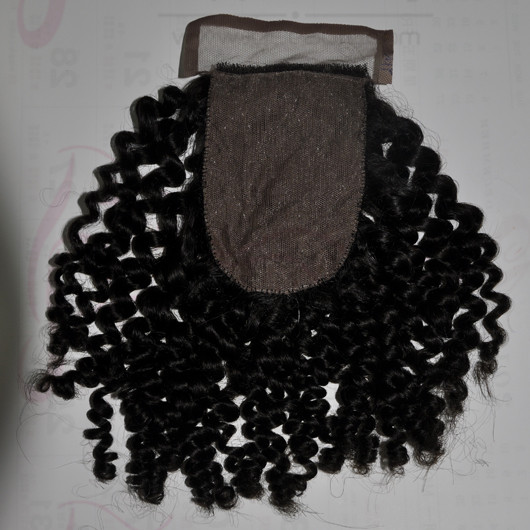 Wholesale Brazilian Virgin Hair Lace Closure 100% Unprocessed Human Hair Silk Top Closure 4