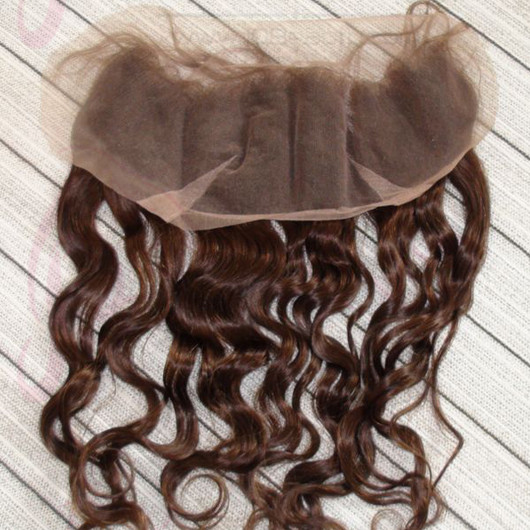 India Virgin Hair JQ Beauty Hair Lace Frontal Closure 13*4'' Body Wave Human Hair Lace Frontal