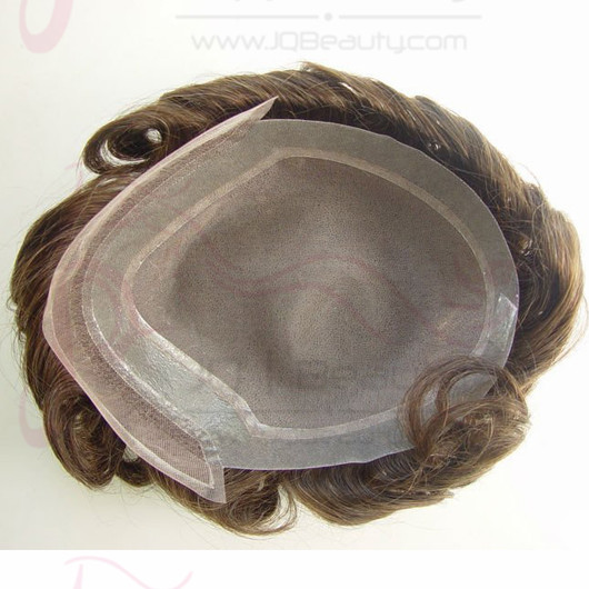 Best Selling Mans Toupee 100% Human Hair Virgin Hair Piece Lace with PU at Front Mans Toupee